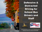 PEAT Defensive & Distracted Driving for Bus Drivers & Staff
